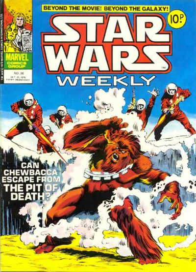 Star Wars Weekly (UK) Vol 1 38