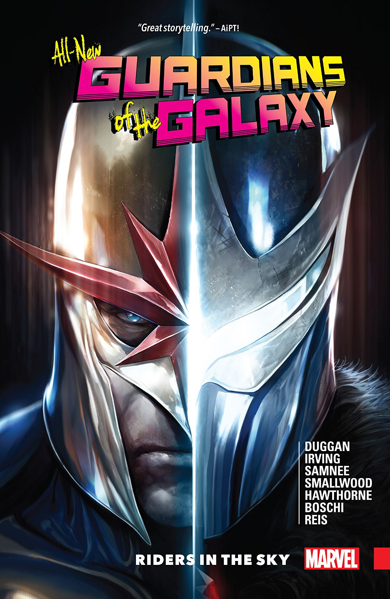 All-New Guardians of the Galaxy TPB Vol 1 2: Riders In The Sky