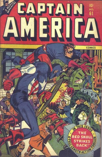 Captain America Comics Vol 1 61