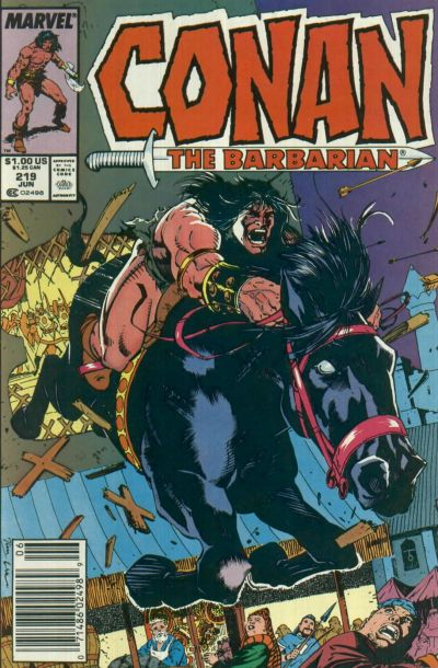 Conan the Barbarian Vol 1 219