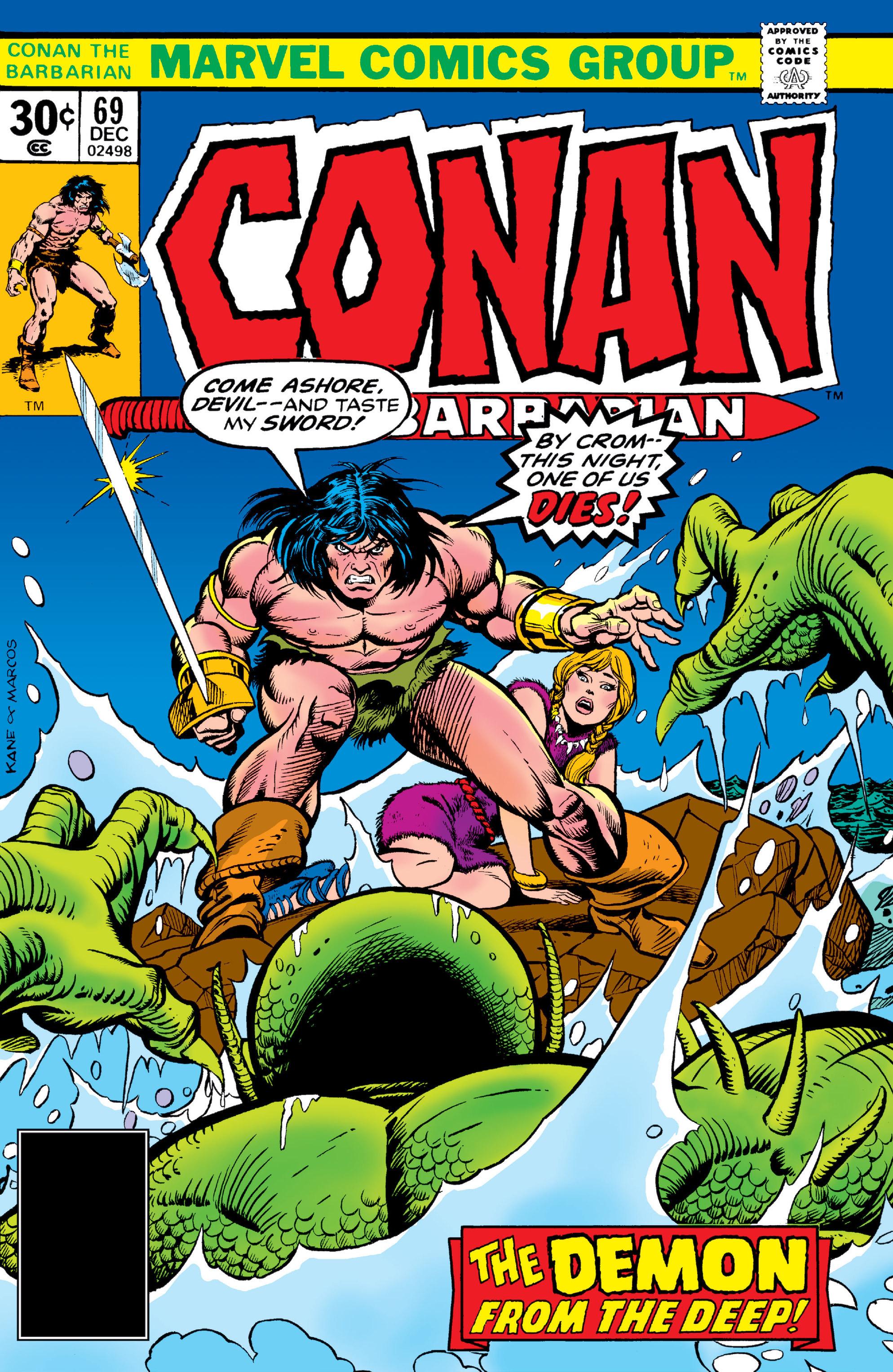 Conan the Barbarian Vol 1 69