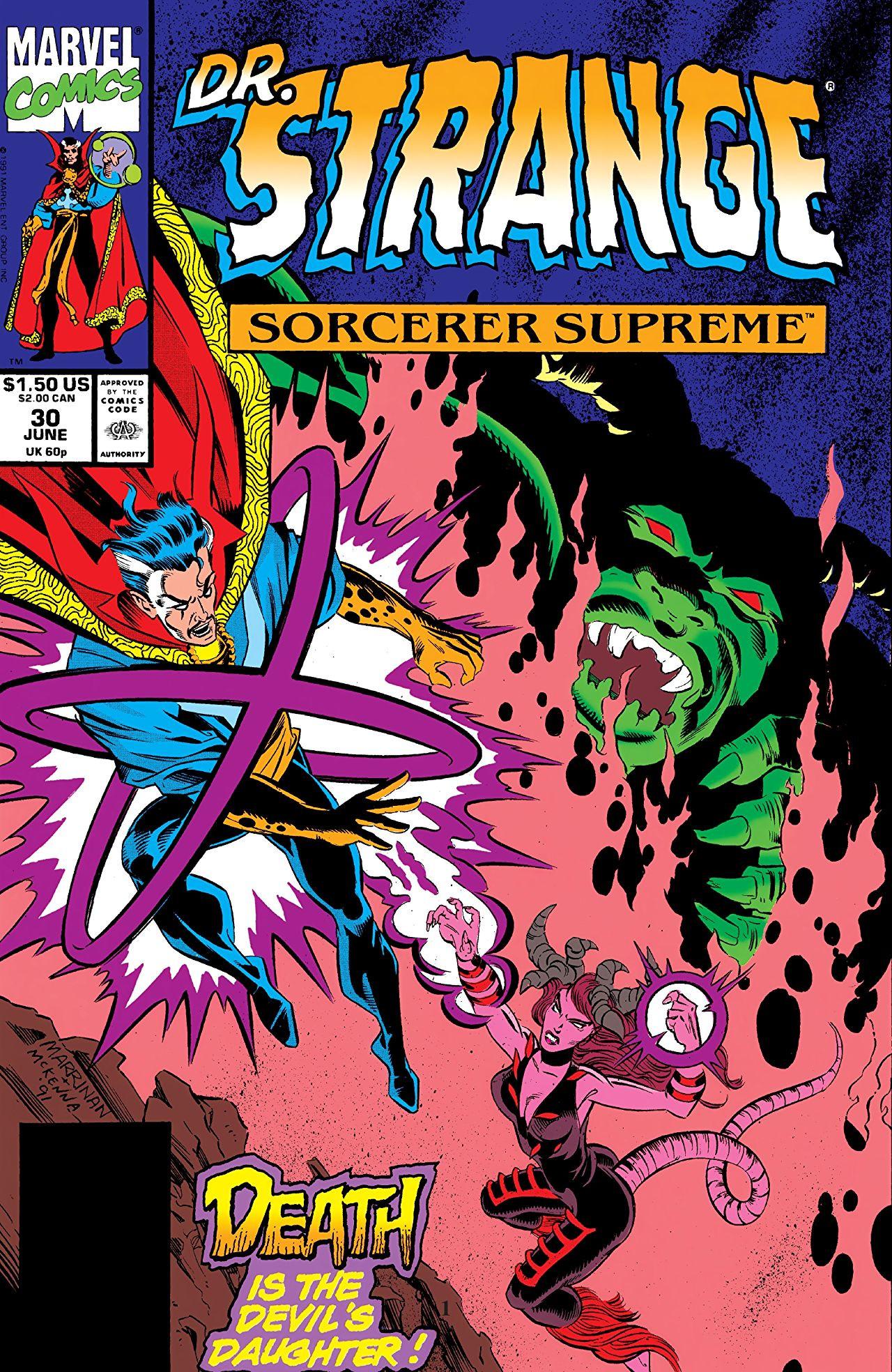 Doctor Strange, Sorcerer Supreme Vol 1 30