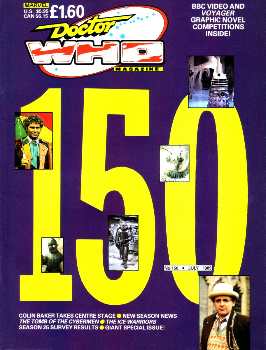 Doctor Who Magazine Vol 1 150