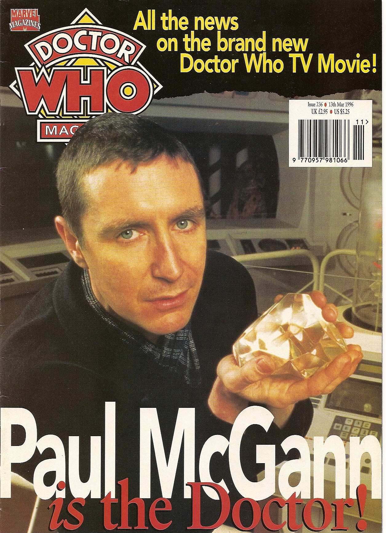 Doctor Who Magazine Vol 1 236