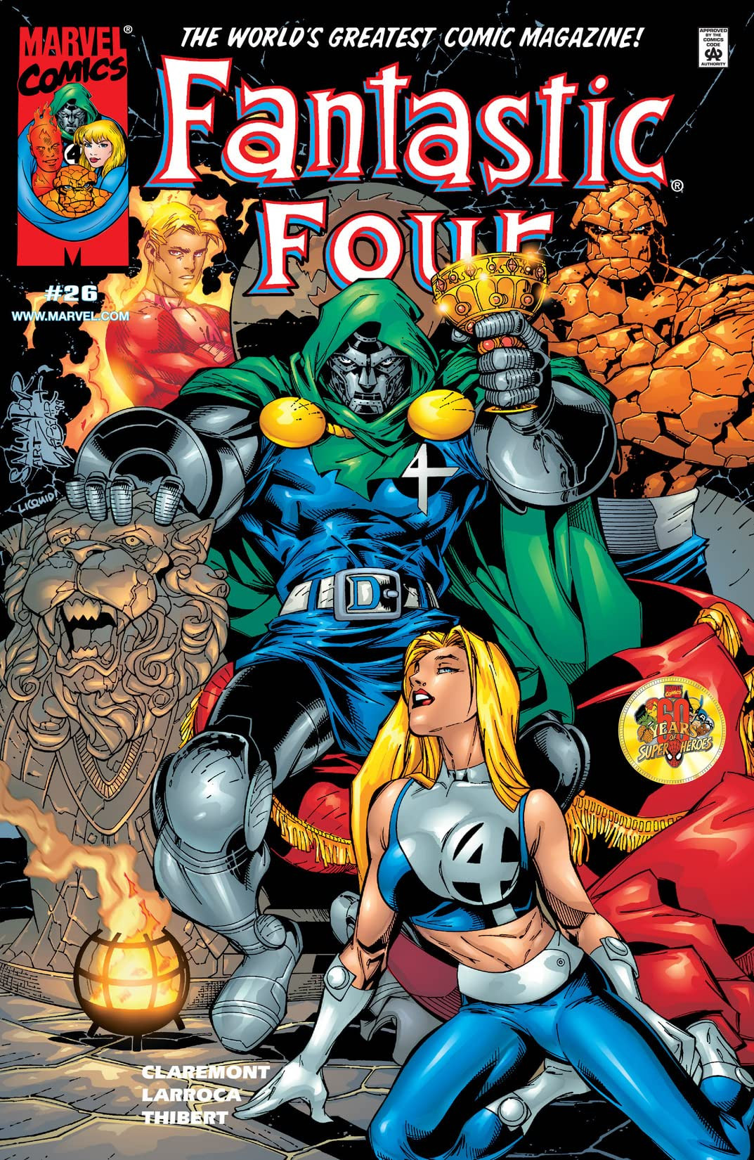 Fantastic Four Vol 3 26