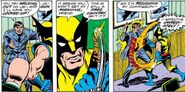 First Snikt from Giant-Size X-Men Vol 1 1