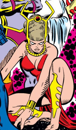 Gazelle (Scratch) (Earth-616) from Fantastic Four Vol 1 186 0001.jpg