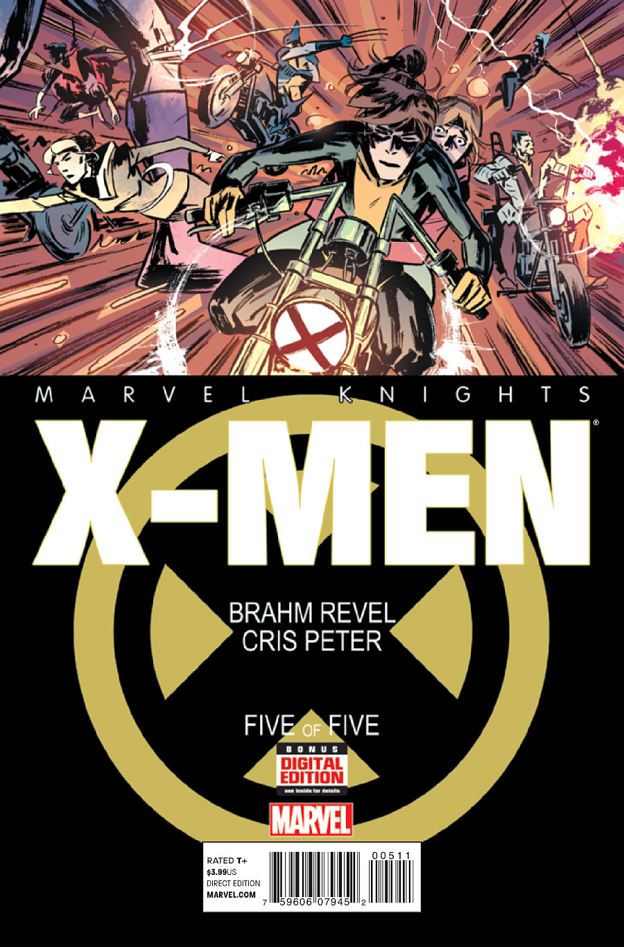 Marvel Knights: X-Men Vol 1 5