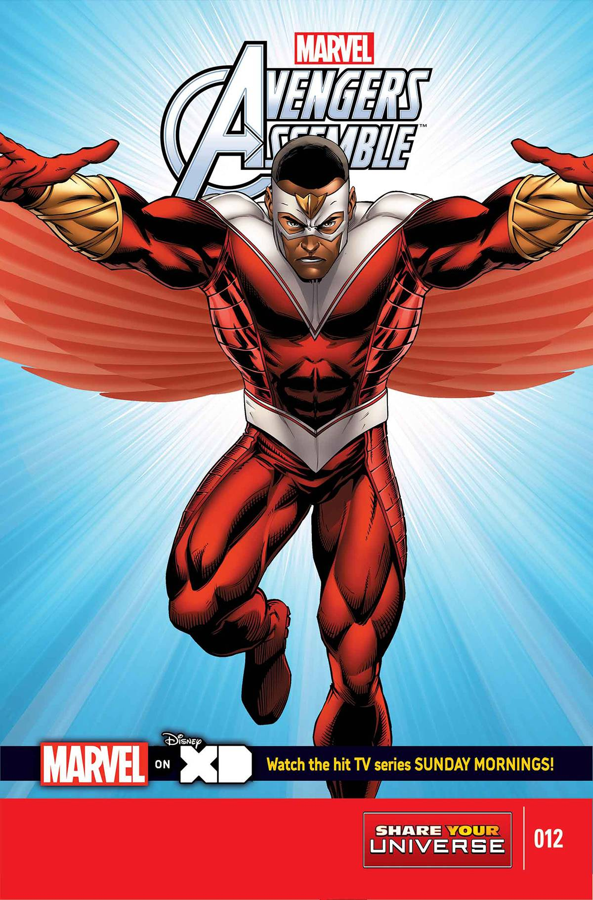 Marvel Universe: Avengers Assemble Vol 1 12