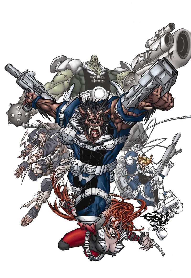 Howling Commandos (S.H.I.E.L.D.) (Earth-616)/Gallery