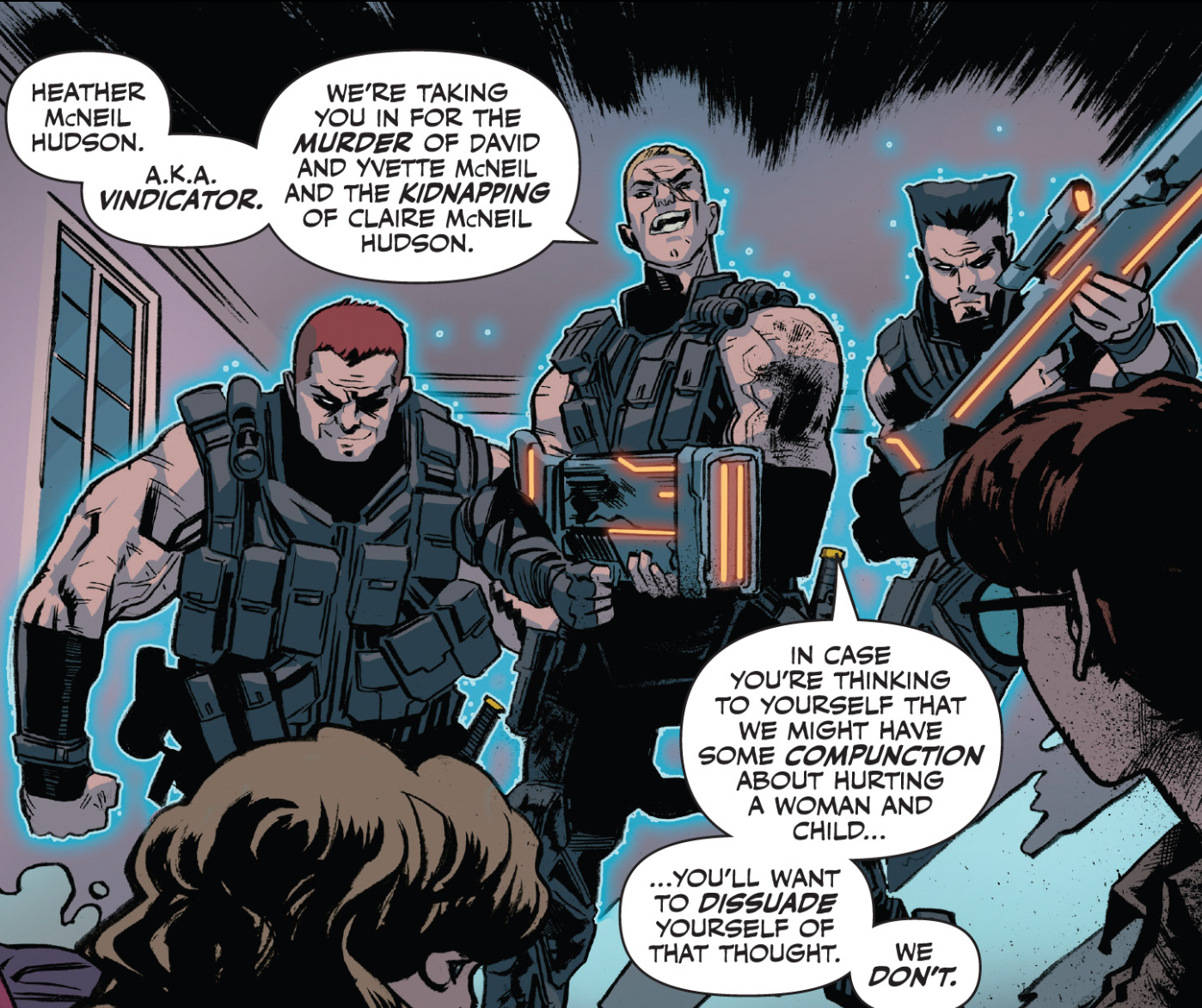 Outcasts (Mercenaries) (Earth-616)
