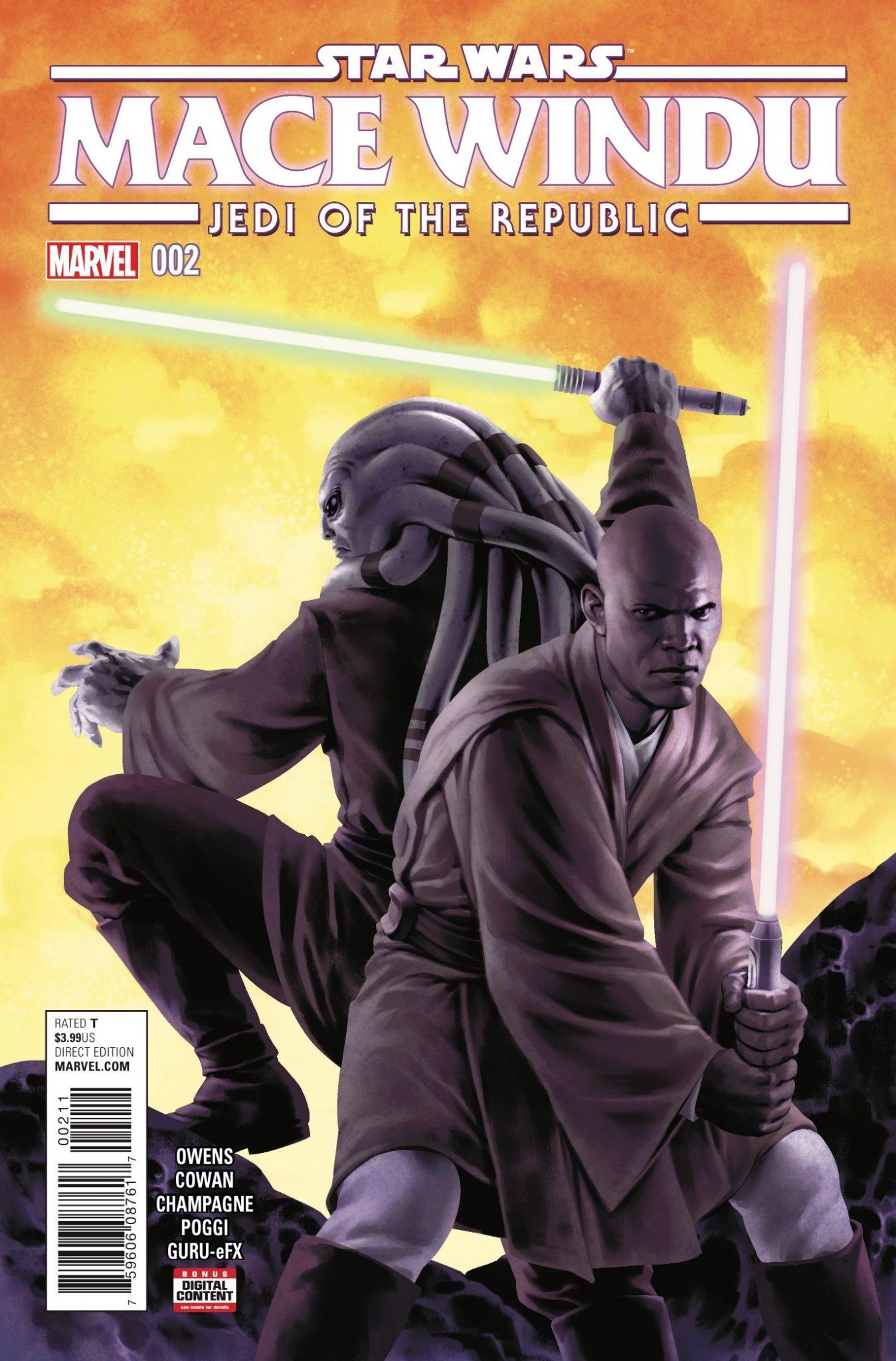 Star Wars: Mace Windu Vol 1 2