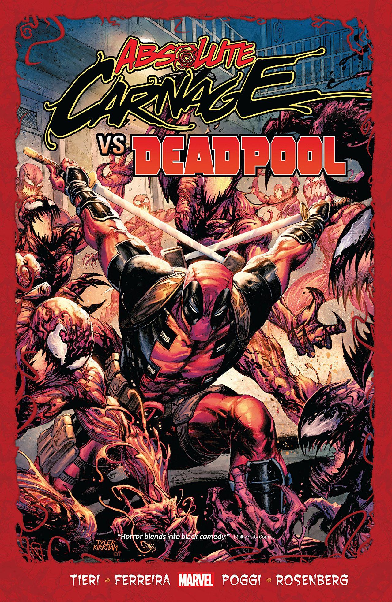Absolute Carnage vs. Deadpool TPB Vol 1