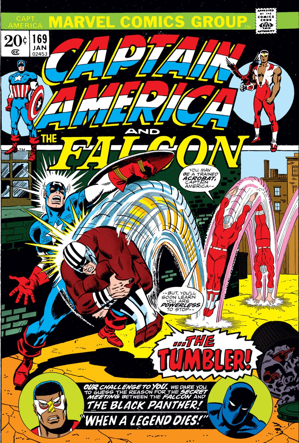 Captain America Vol 1 169