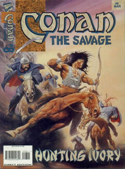 Conan the Savage Vol 1 8