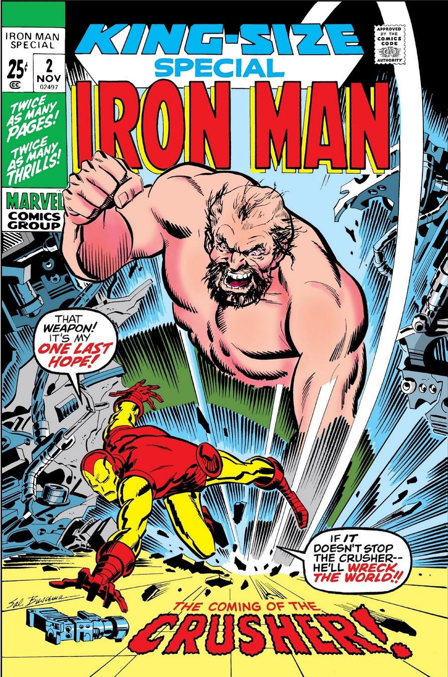 Iron Man Annual Vol 1 2