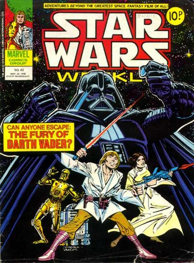 Star Wars Weekly (UK) Vol 1 42