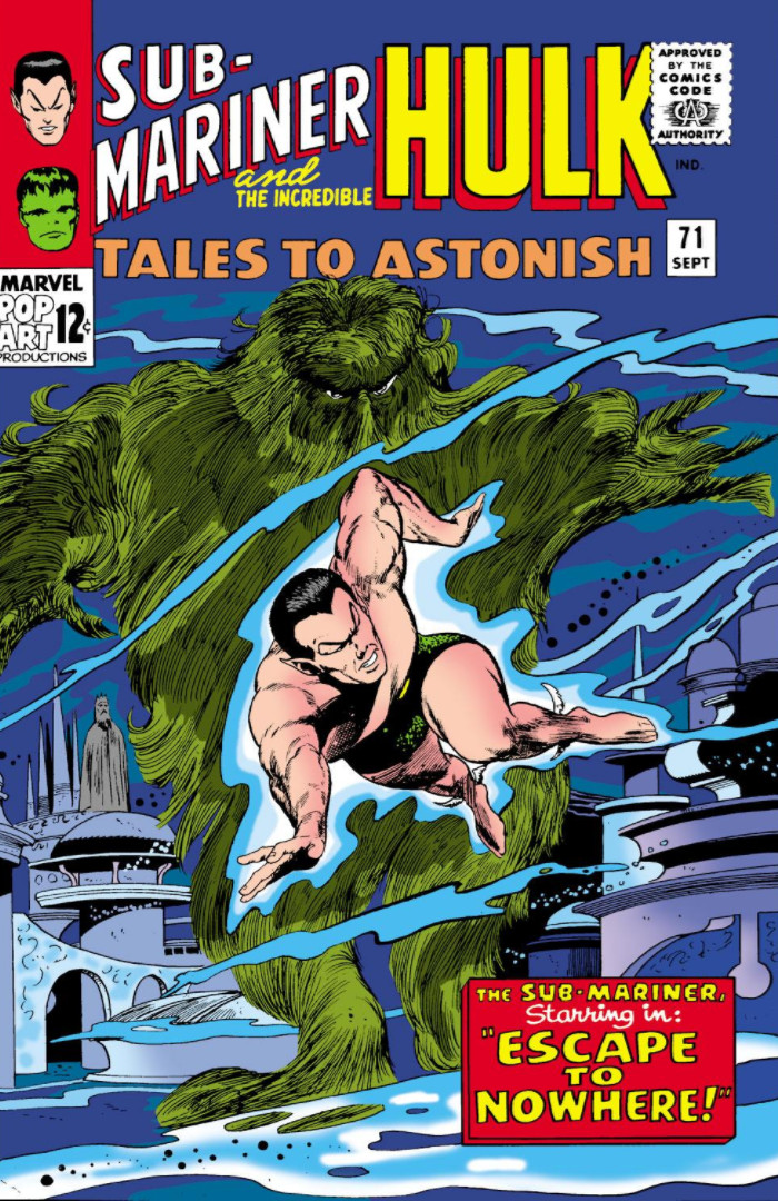 Tales to Astonish Vol 1 71