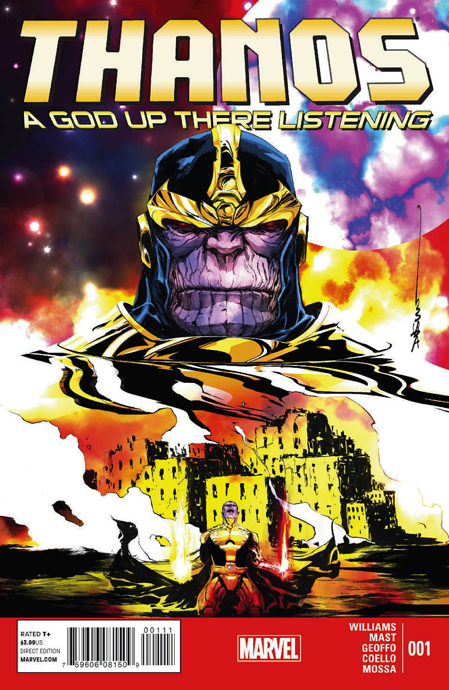 Thanos: A God Up There Listening Vol 1 1