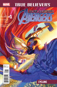 True Believers All-New, All-Different Avengers - Cyclone Vol 1 1