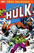 True Believers Hulk - Intelligent Hulk Vol 1 1