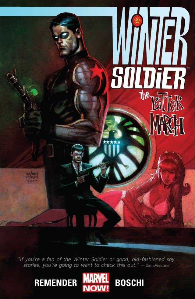 Winter Soldier: The Bitter March TPB Vol 1 1