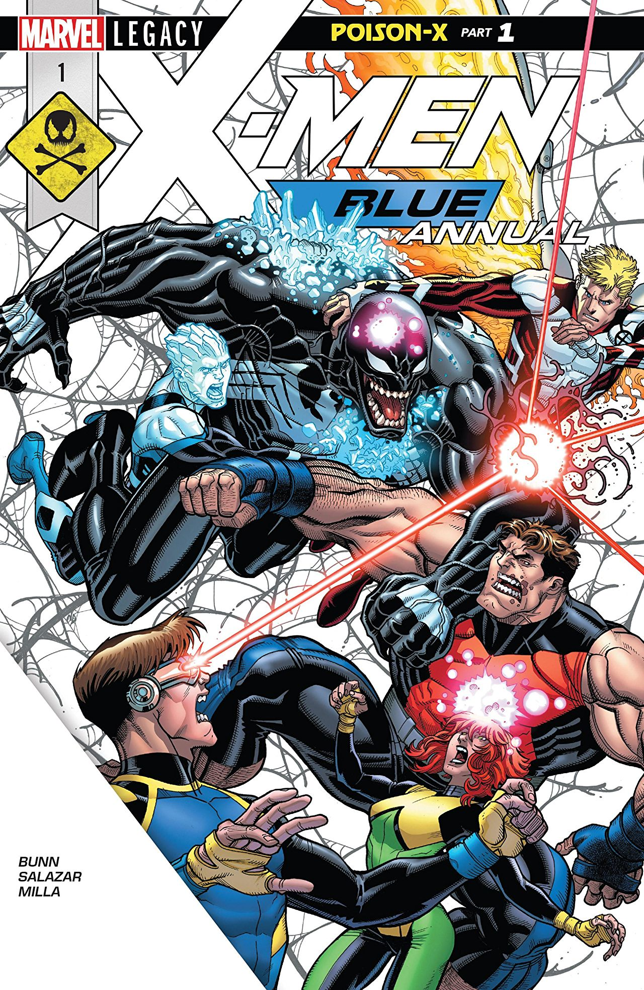 X-Men: Blue Annual Vol 1 1