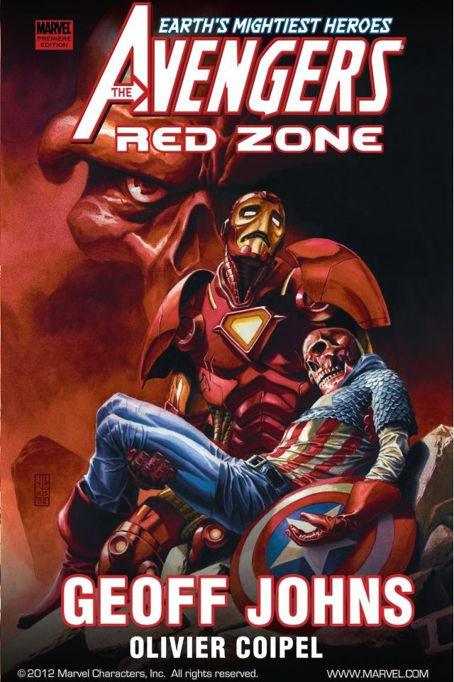 Avengers: Red Zone TPB Vol 1 1