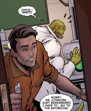 Curtis Connors (Earth-616) and Jamie Tolentino (Earth-616) from Amazing Spider-Man Vol 5 68 003