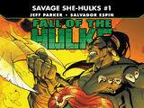 Fall of the Hulks: The Savage She-Hulks Vol 1 1