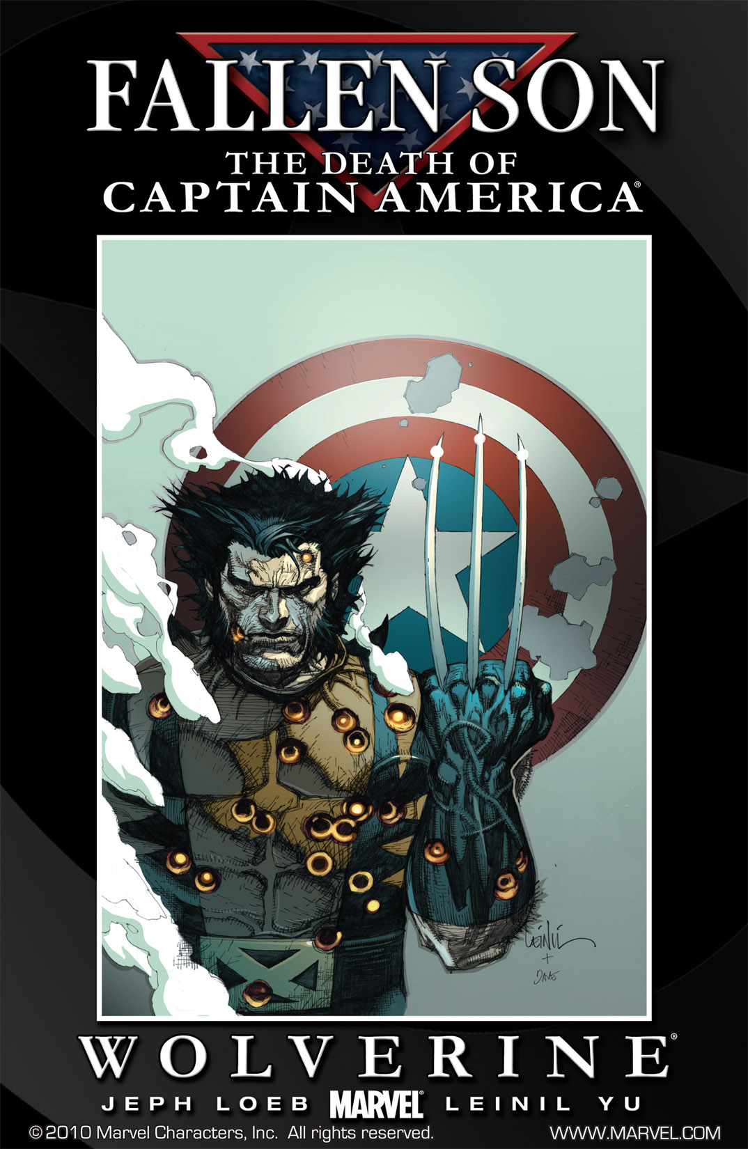 Fallen Son: The Death of Captain America Vol 1 1