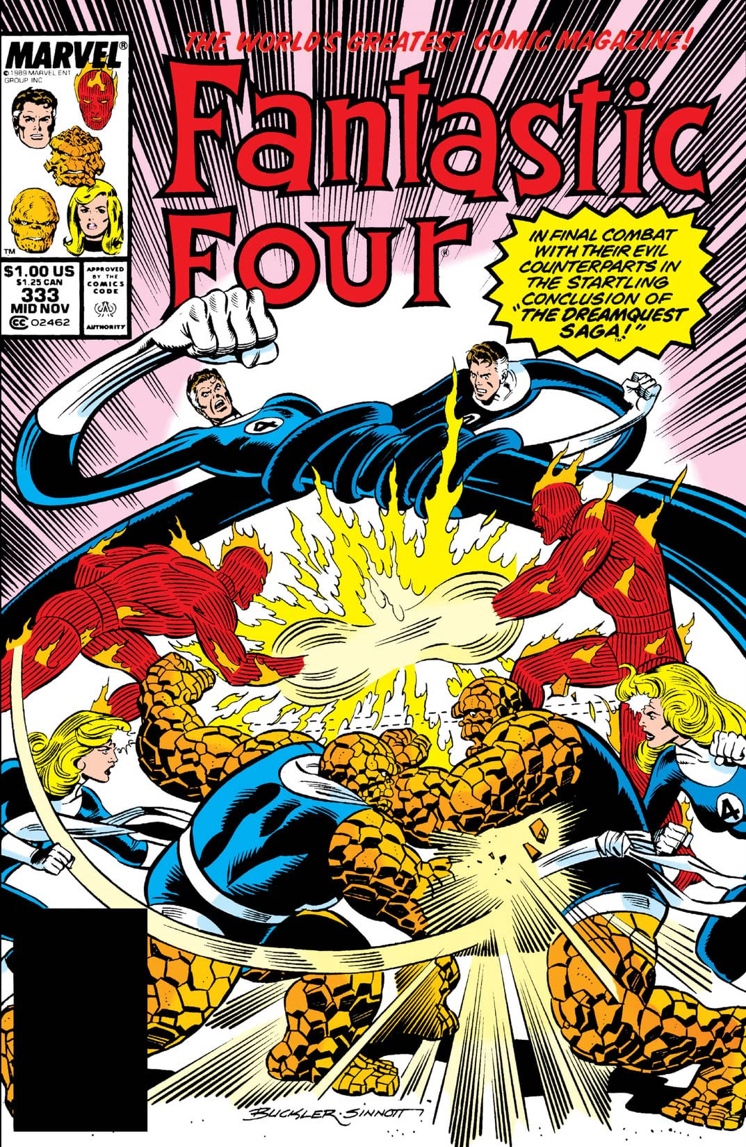 Fantastic Four Vol 1 333