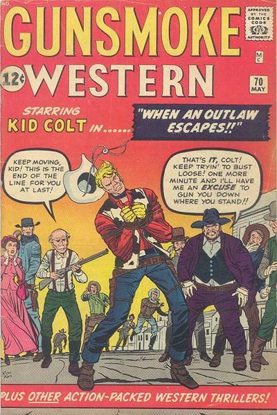 Gunsmoke Western Vol 1 70