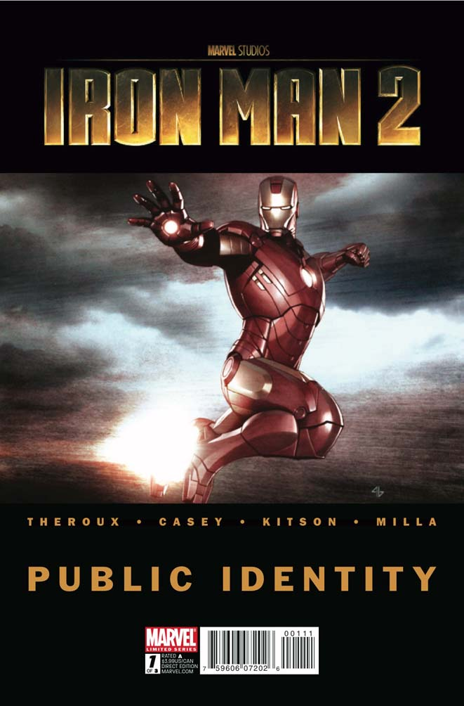 Iron Man 2: Public Identity Vol 1 1
