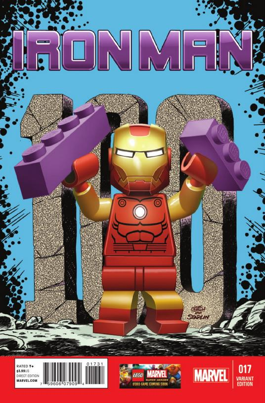 Iron Man Vol 5 17 LEGO Variant.jpg