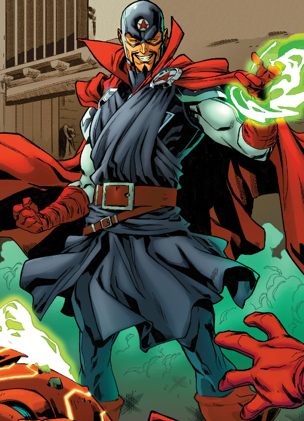 John Kaluu (Warp World) (Earth-616) from Secret Warps Soldier Supreme Annual Vol 1 1 001.png