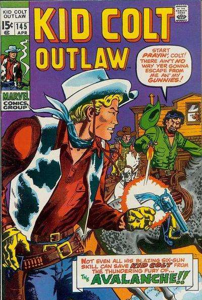 Kid Colt Outlaw Vol 1 145