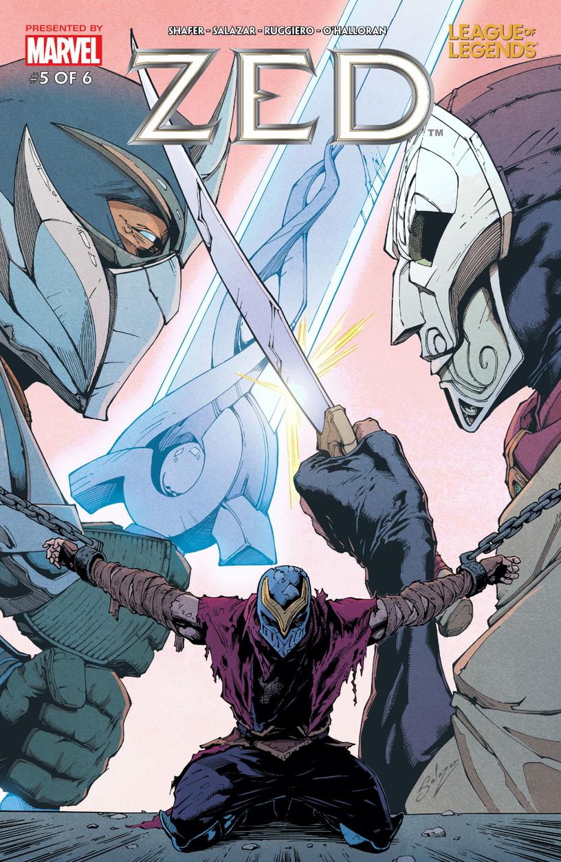League of Legends: Zed Vol 1 5