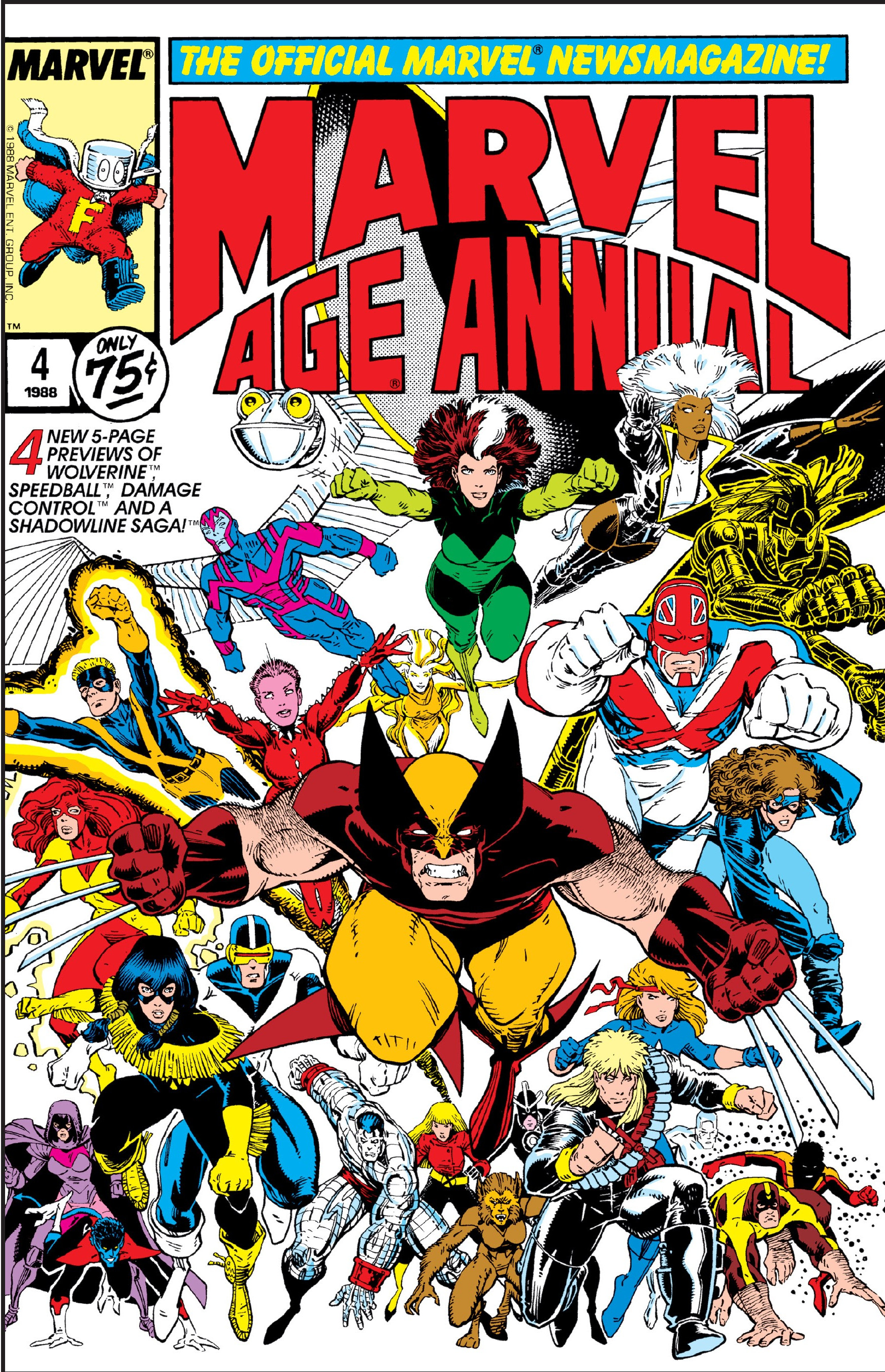 Marvel Age Annual Vol 1 4