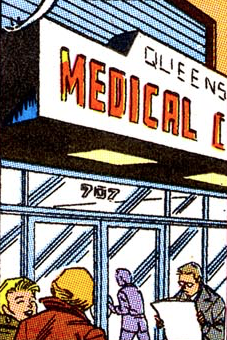 Queens Medical Center from Web of Spider-Man Vol 1 61 001.png