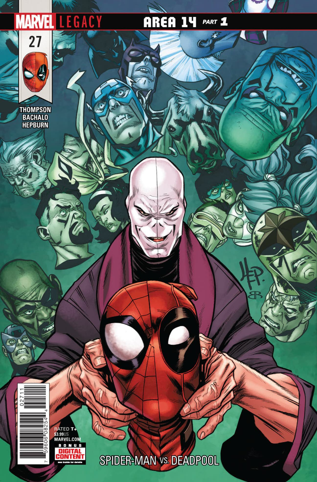 Spider-Man/Deadpool Vol 1 27