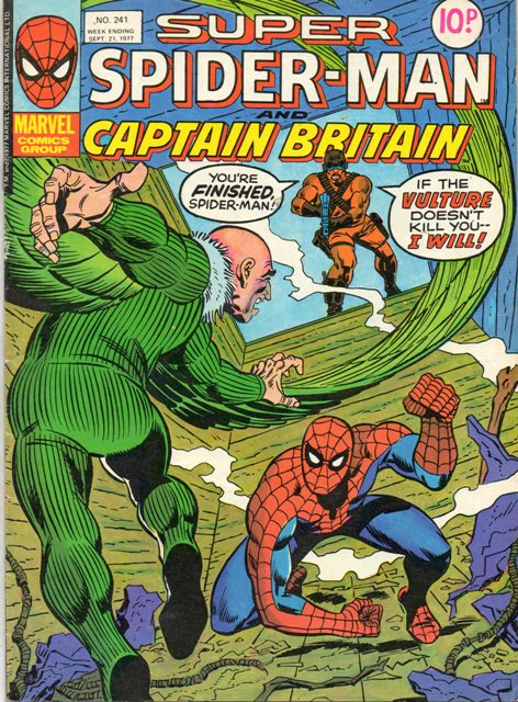 Super Spider-Man & Captain Britain Vol 1 241