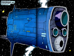 Thanos' Dreadnought 666 from Infinity Crusade Vol 1 4.png