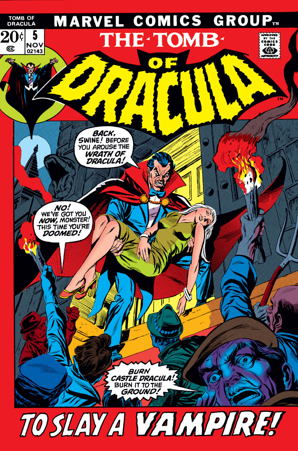 Tomb of Dracula Vol 1 5