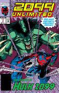 True Believers Hulk - Hulk 2099 Vol 1 1 Solicit