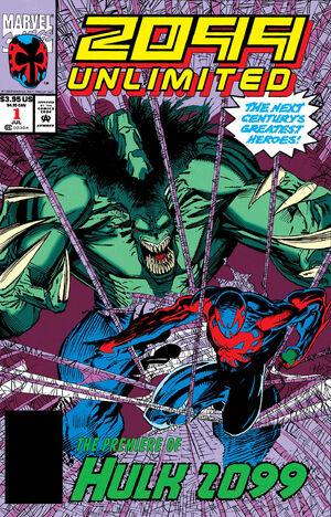 True Believers Hulk - Hulk 2099 Vol 1 1 Solicit.jpg