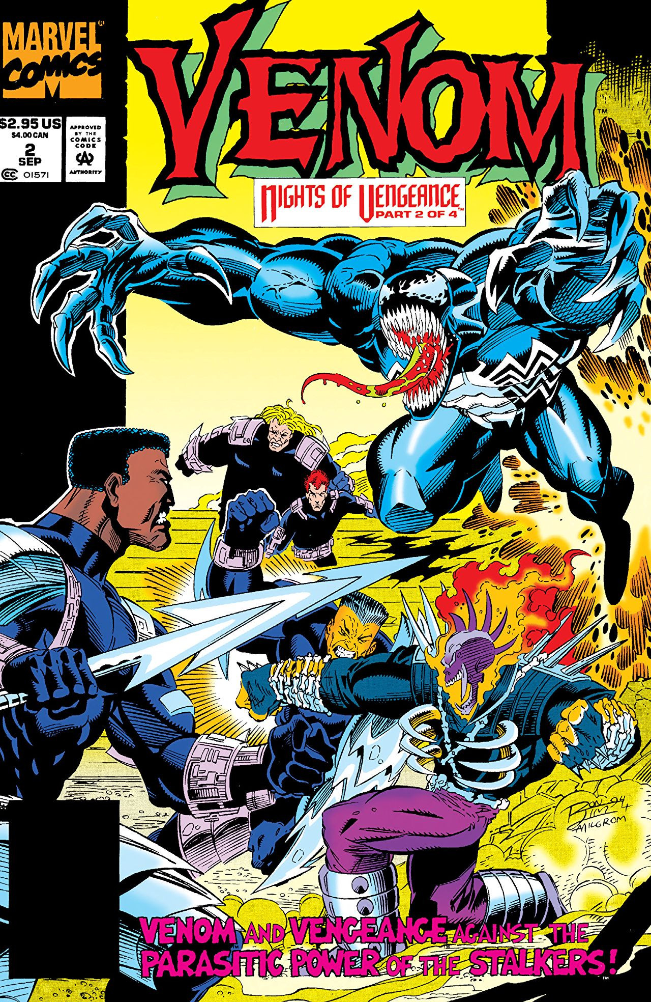 Venom: Nights of Vengeance Vol 1 2