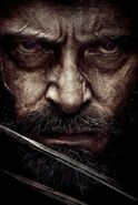 Wolverine Logan Face Poster