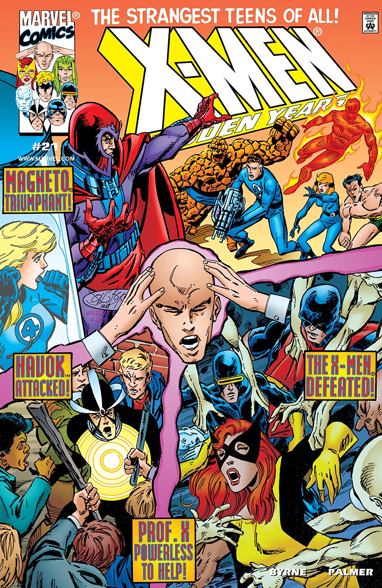 X-Men: The Hidden Years Vol 1 21