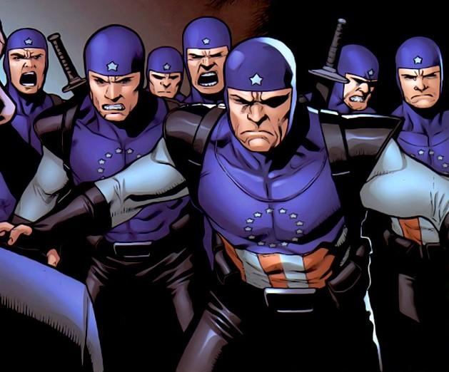 American Ninjas (Earth-616)/Gallery